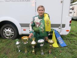 SKCC och KCV. Daniel mästare i båda serierna 2015, i Formel Mini