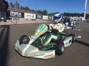 Daniel testar Olivers Formel Mini