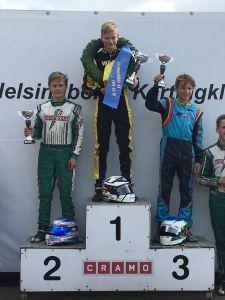 Daniel på en stark 2:a plats vid SKCC 4 i Helsingborg
